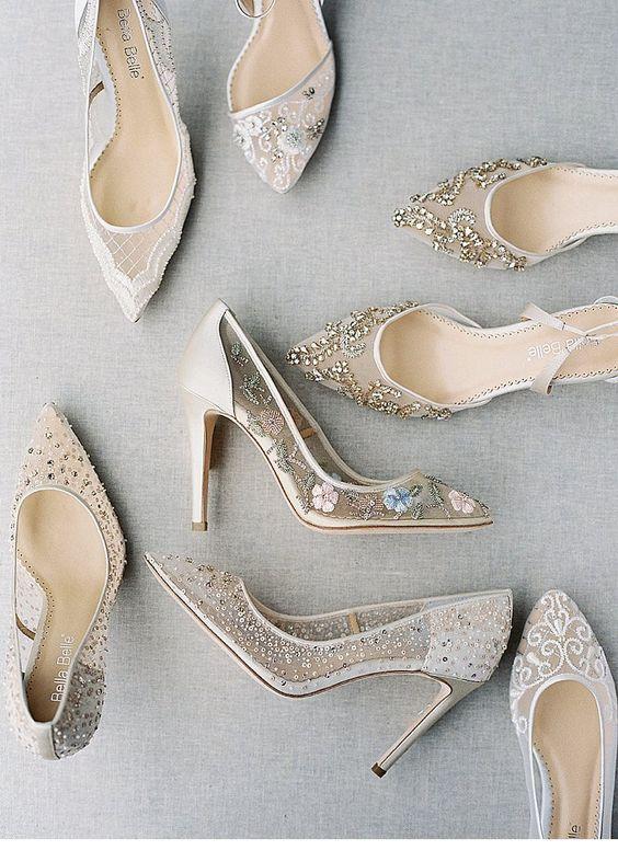 16b38eacf64f Ako si vybrať správne svadobné topánky - Lovely.sk