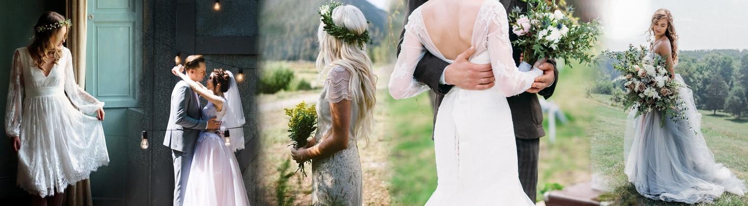 16673b2e0254 Popolnočné šaty na svadbu  Aké si vybrať  - Lovely.sk