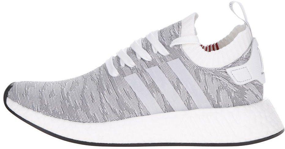 663b08a3553ae Bielo-sivé pánske vzorované tenisky adidas Originals NMD značky adidas  Originals - Lovely.sk