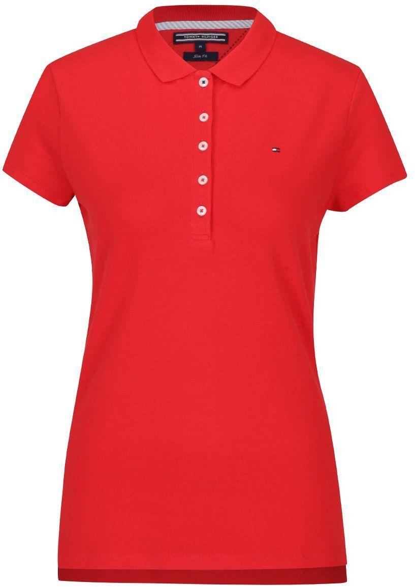 3f17bf8473 Červené dámske polo tričko Tommy Hilfiger New Chiara značky Tommy Hilfiger  - Lovely.sk