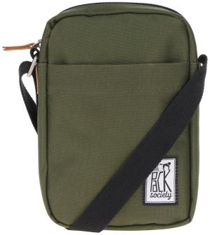 Kaki crossbody taška The Pack Society