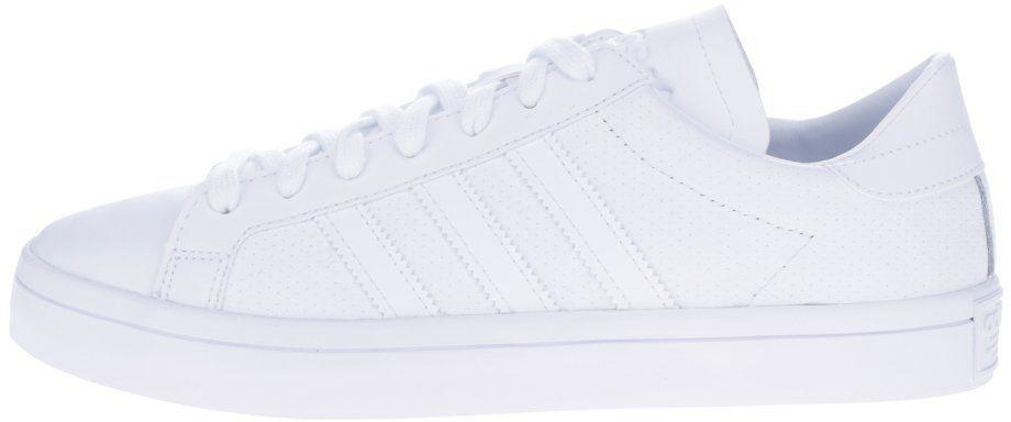 be49b4ccf6255 Biele pánske kožené tenisky adidas Originals Courtvantage značky adidas  Originals - Lovely.sk