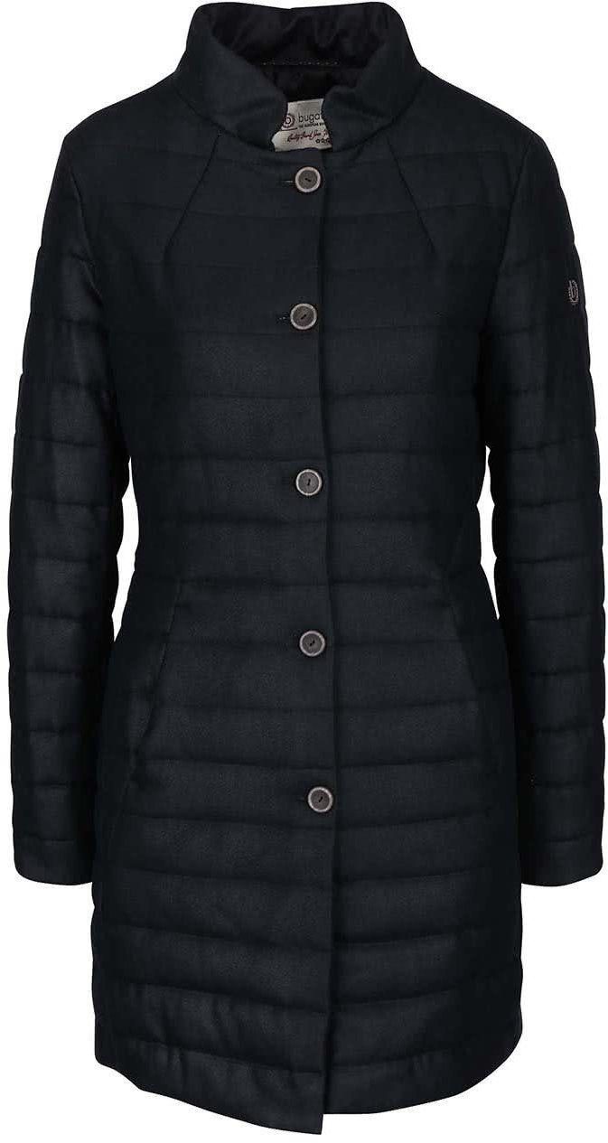 Čierny dámsky prešívaný kabát Bugatti značky bugatti - Lovely.sk caa5ab5410