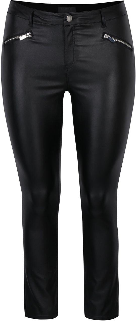 783cb63b538a Čierne lesklé skinny nohavice s ozdobnými zipsami Dorothy Perkins značky  Dorothy Perkins - Lovely.sk