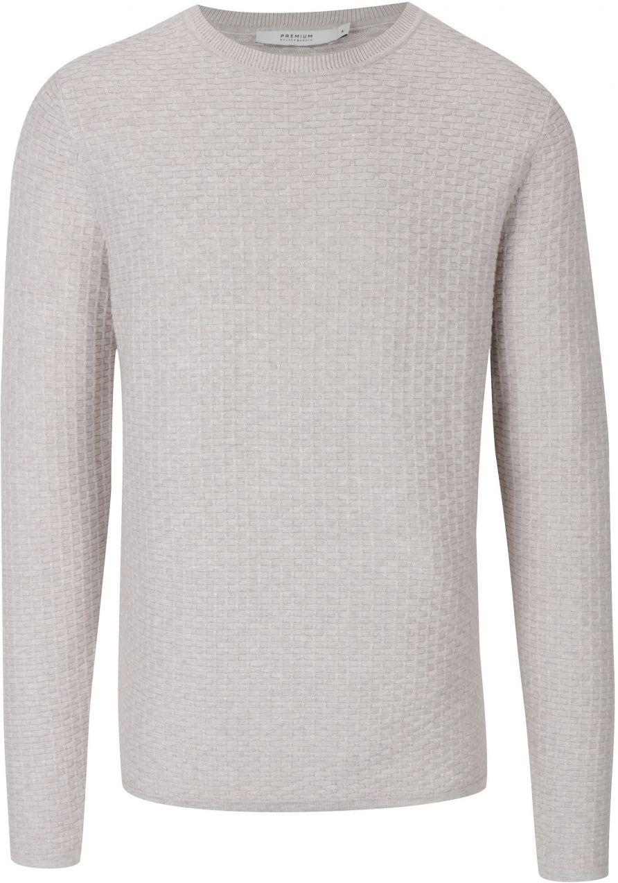 b9dc384bacc8 Krémový sveter s jemným vzorom Jack   Jones Brick značky Jack   Jones -  Lovely.sk