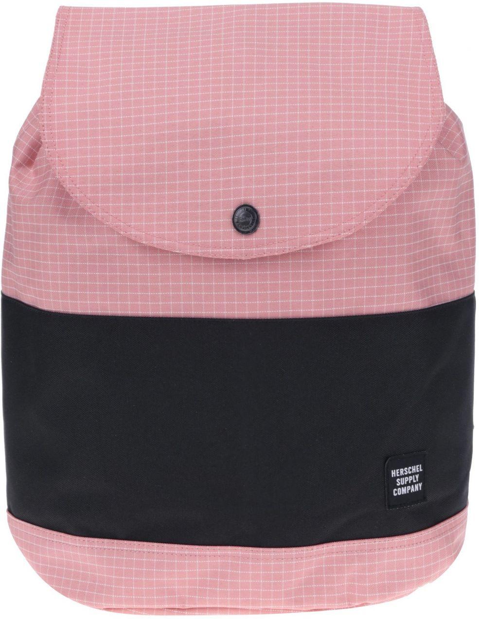 Čierno-ružový kockovaný batoh Herschel Reid 21 l značky Herschel - Lovely.sk da360b2b452