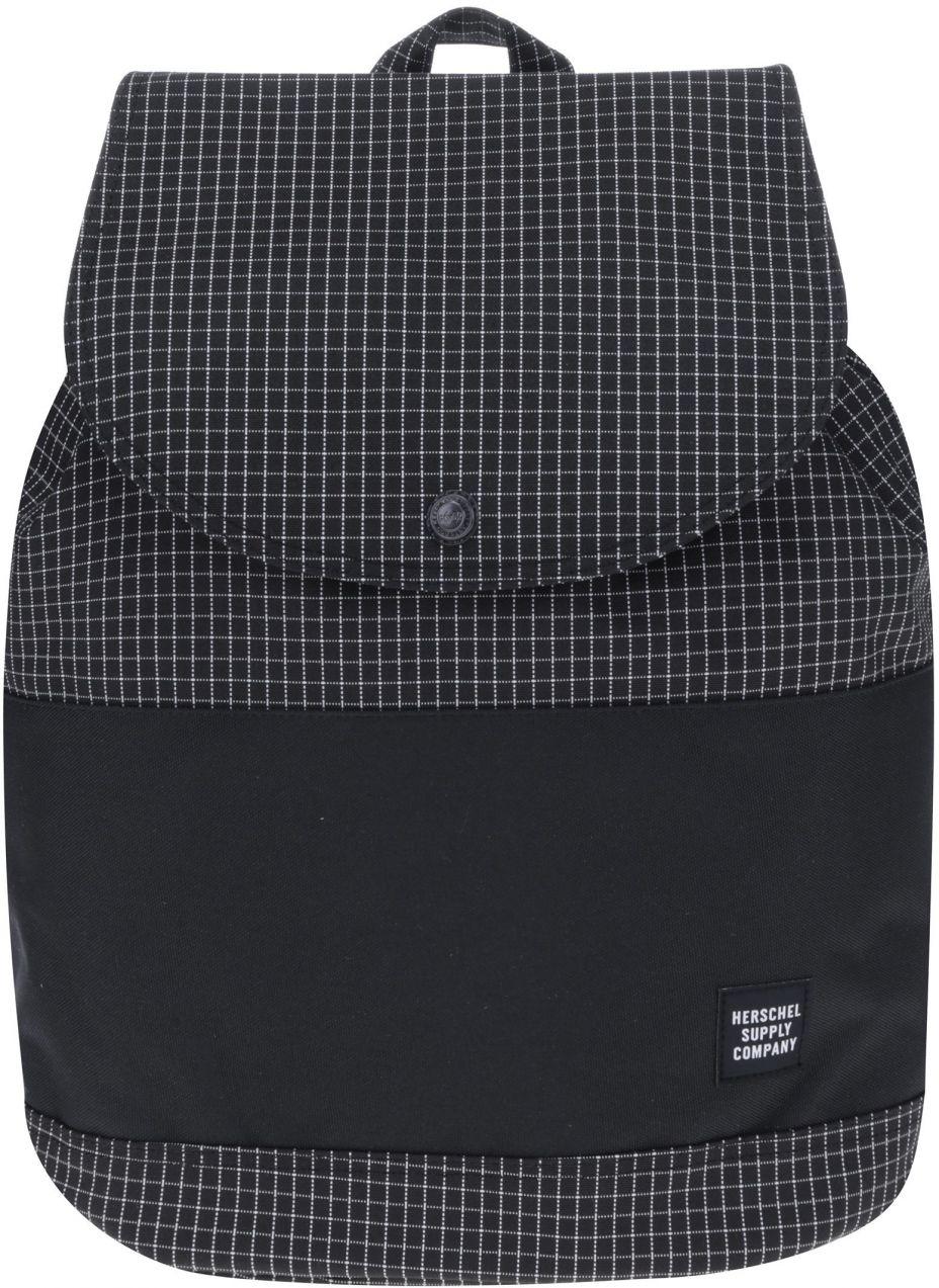 Čierny kockovaný batoh Herschel Reid 21 l značky Herschel - Lovely.sk 26e5afc29ca