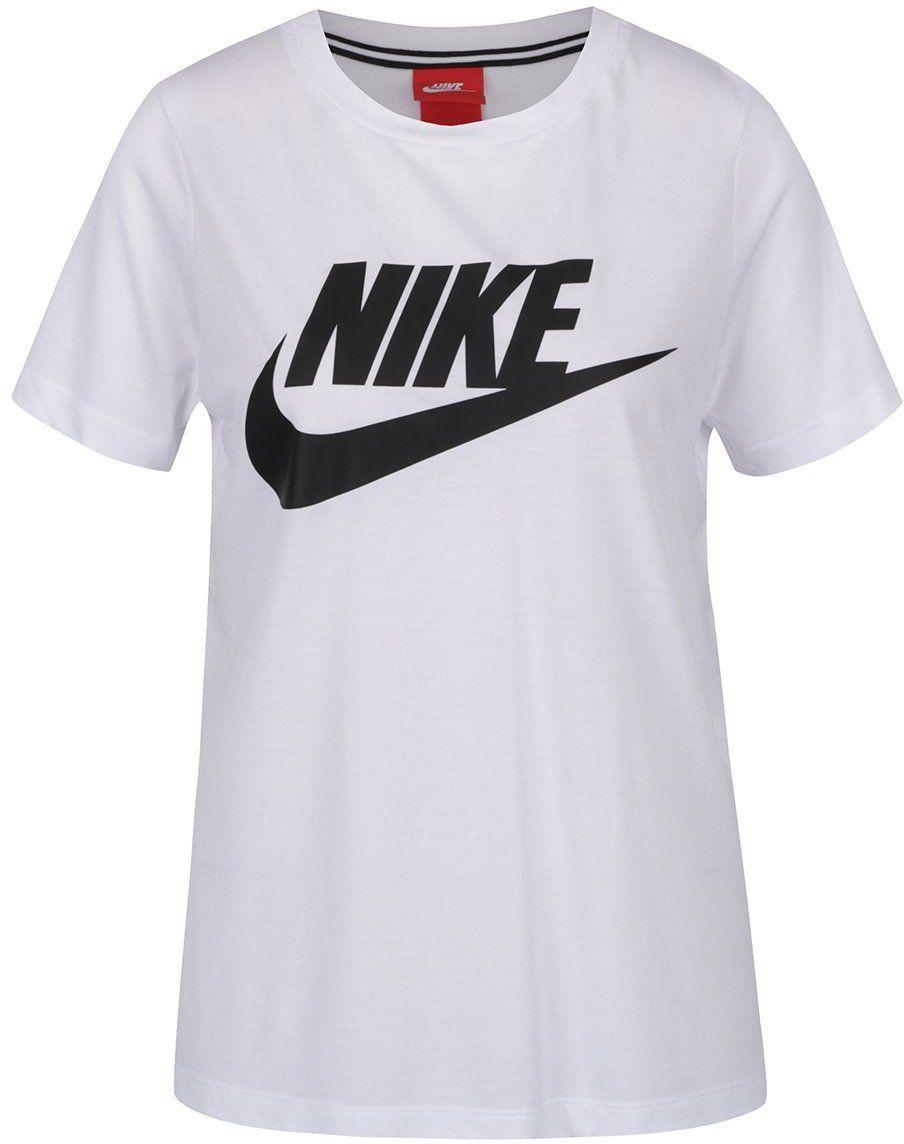 9a07ca9dc676 Biele dámske tričko s potlačou Nike značky Nike - Lovely.sk