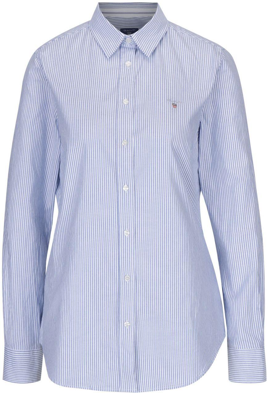 44afc3da9c78 Bielo-modrá dámska pruhovaná košeľa GANT značky Gant - Lovely.sk