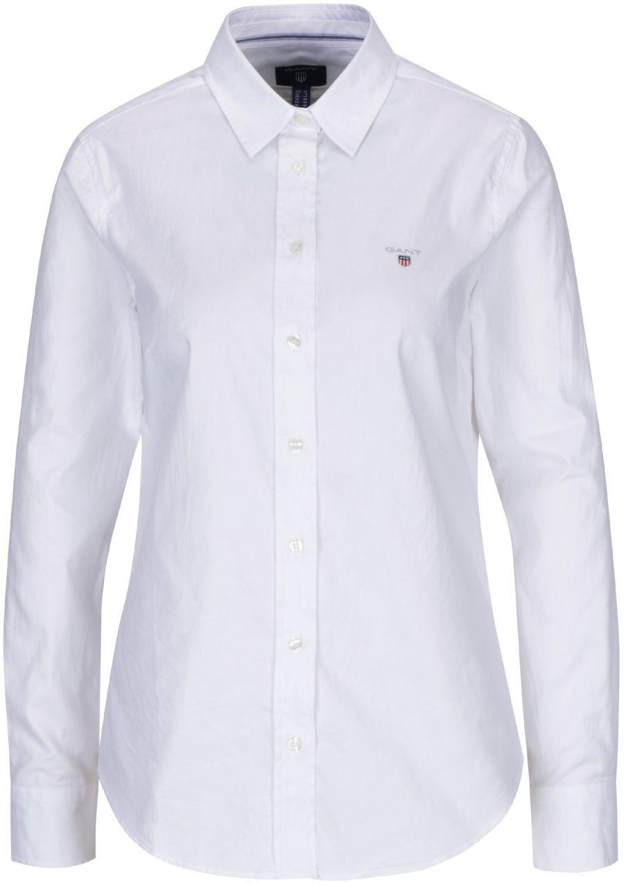 89034f728fa3 Biela dámska slim košeľa GANT značky Gant - Lovely.sk