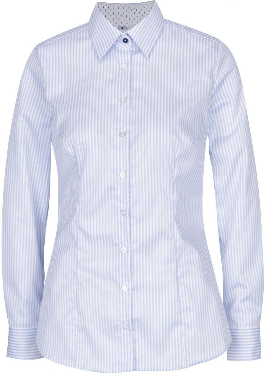 d463ac243924 Svetlomodrá dámska pruhovaná košeľa VAVI značky VAVI - Lovely.sk