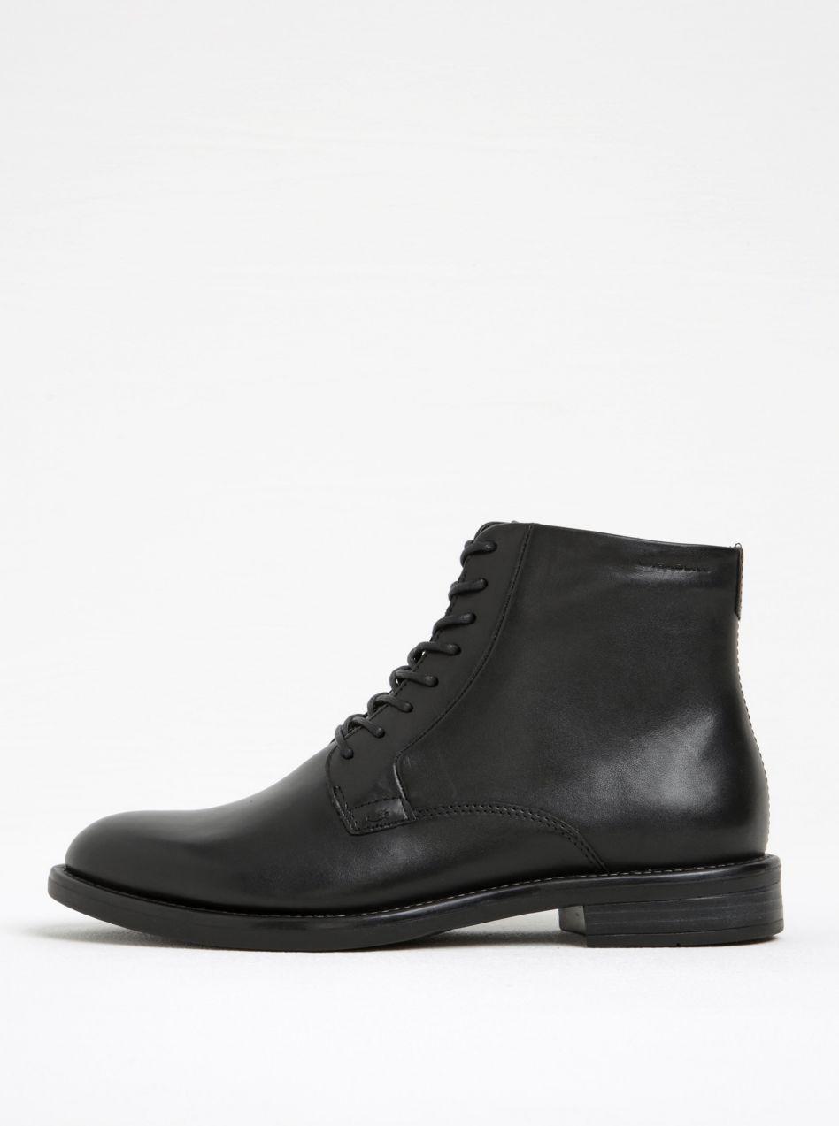 4c03dec93c4f Čierne dámske kožené členkové topánky Vagabond Amina značky Vagabond -  Lovely.sk