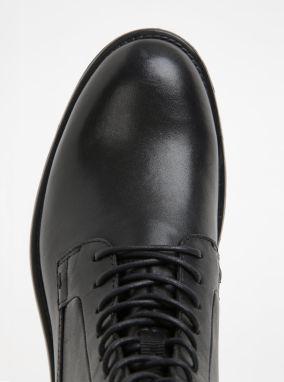Čierne dámske kožené členkové topánky Vagabond Amina značky Vagabond ... 3929b98c6d8