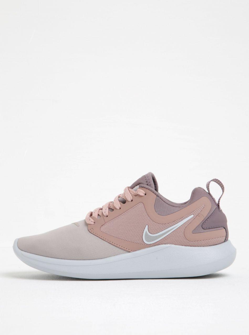 Svetloružové dámske tenisky na platforme Nike Lunarsolo značky Nike -  Lovely.sk 6da118ad874