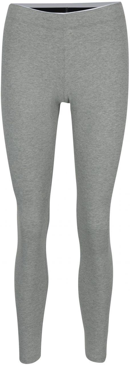 eb761ce23475 Sivé dámske melírované športové legíny s potlačou Nike Sportswear Logo Club  značky Nike - Lovely.sk