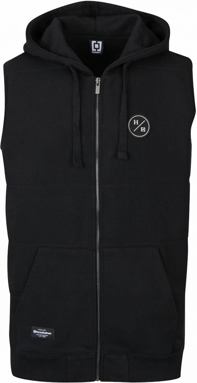 Čierna pánska vesta s kapucňou Horsefeathers Forest značky Horsefeathers -  Lovely.sk 3ead92a6234