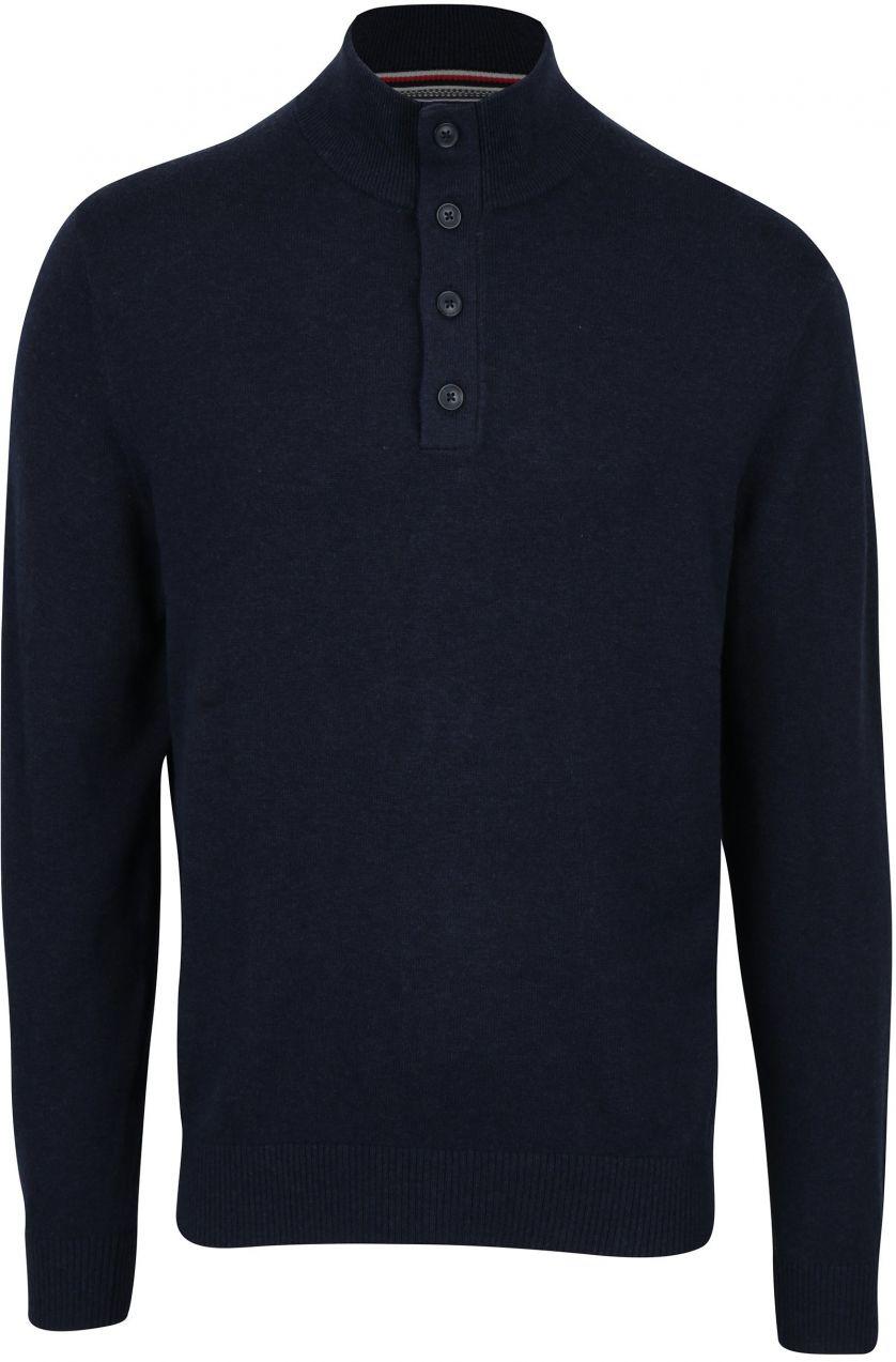 Tmavomodrý pánsky sveter s prímesou kašmíru Tommy Hilfiger Pima značky  Tommy Hilfiger - Lovely.sk 0a2000ef587