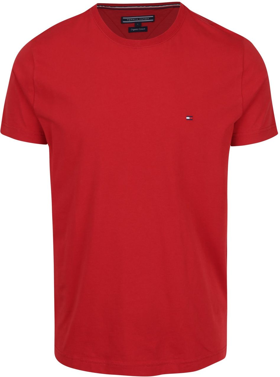 Červené pánske tričko Tommy Hilfiger Flag značky Tommy Hilfiger - Lovely.sk 6655198467e