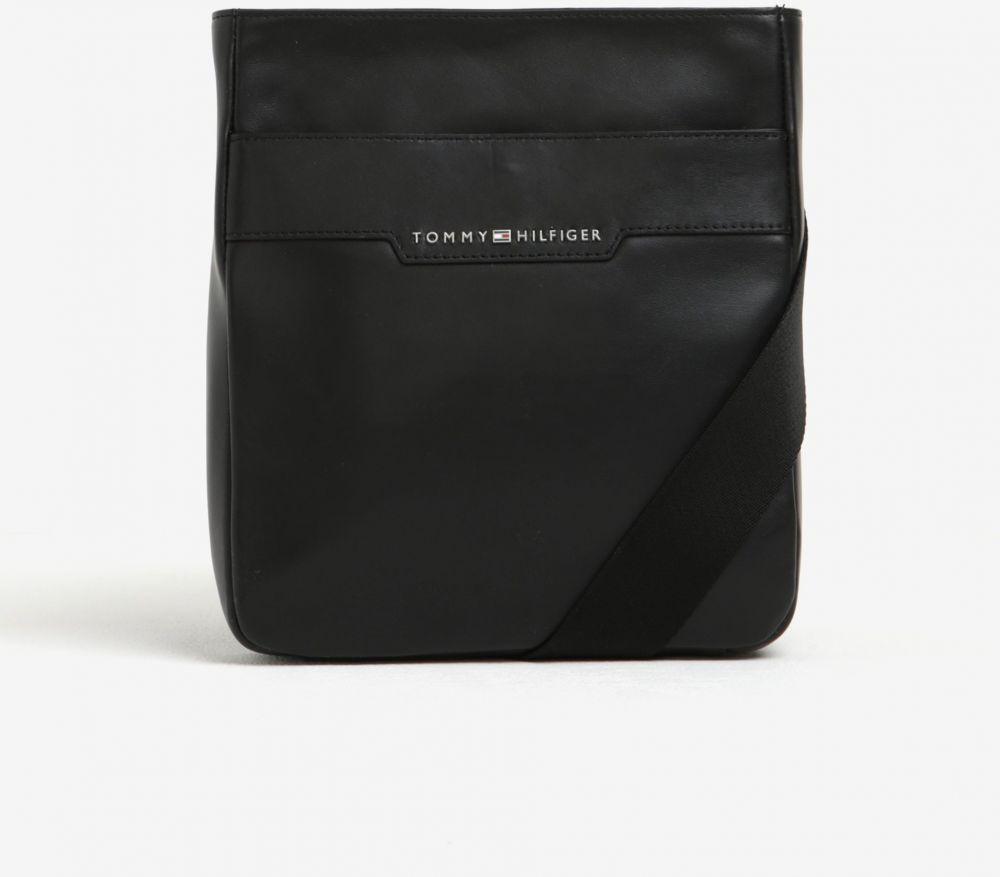 Čierna pánska kožená crossbody taška Tommy Hilfiger Smooth značky Tommy  Hilfiger - Lovely.sk 440a87a2ab5