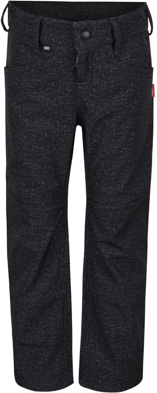 Tmavosivé chlapčenské funkčné vodovzdorné softshellové zateplené nohavice  Reima Mighty značky Reima - Lovely.sk 22d49925dfb