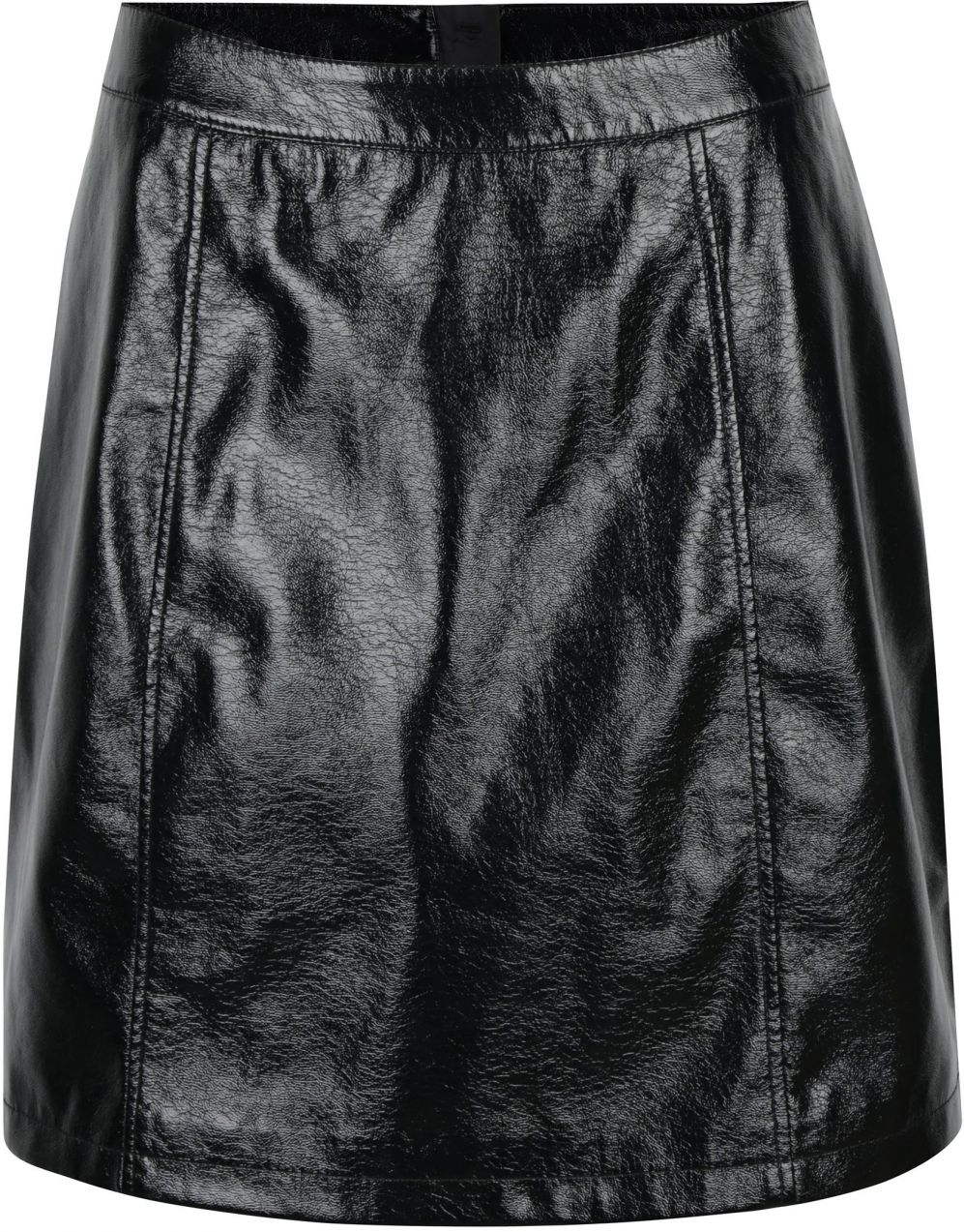 Čierna lesklá koženková sukňa VERO MODA Shine značky Vero Moda - Lovely.sk 5c20023012