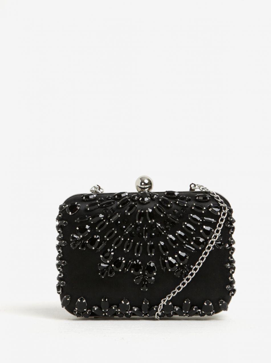 05862379c845 Čierna crossbody listová kabelka s plastickými ozdobami Dorothy Perkins  značky Dorothy Perkins - Lovely.sk