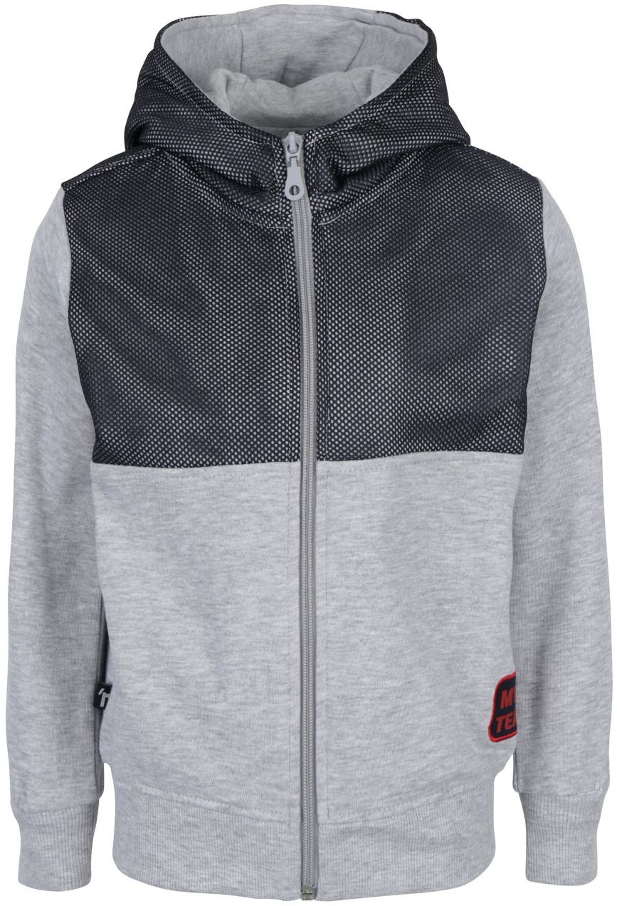 85189c159 Modro-sivá chlapčenská mikina s kapucňou Mix´n Match značky Mix´n Match -  Lovely.sk
