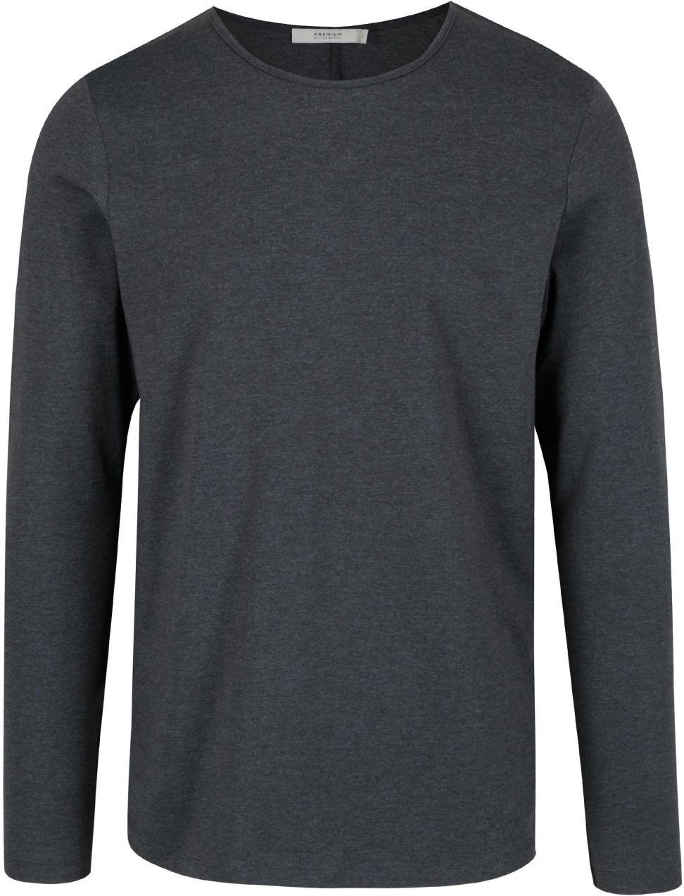 47a480b3da Tmavosivé basic tričko s dlhým rukávom Jack   Jones Perth značky Jack    Jones - Lovely.sk
