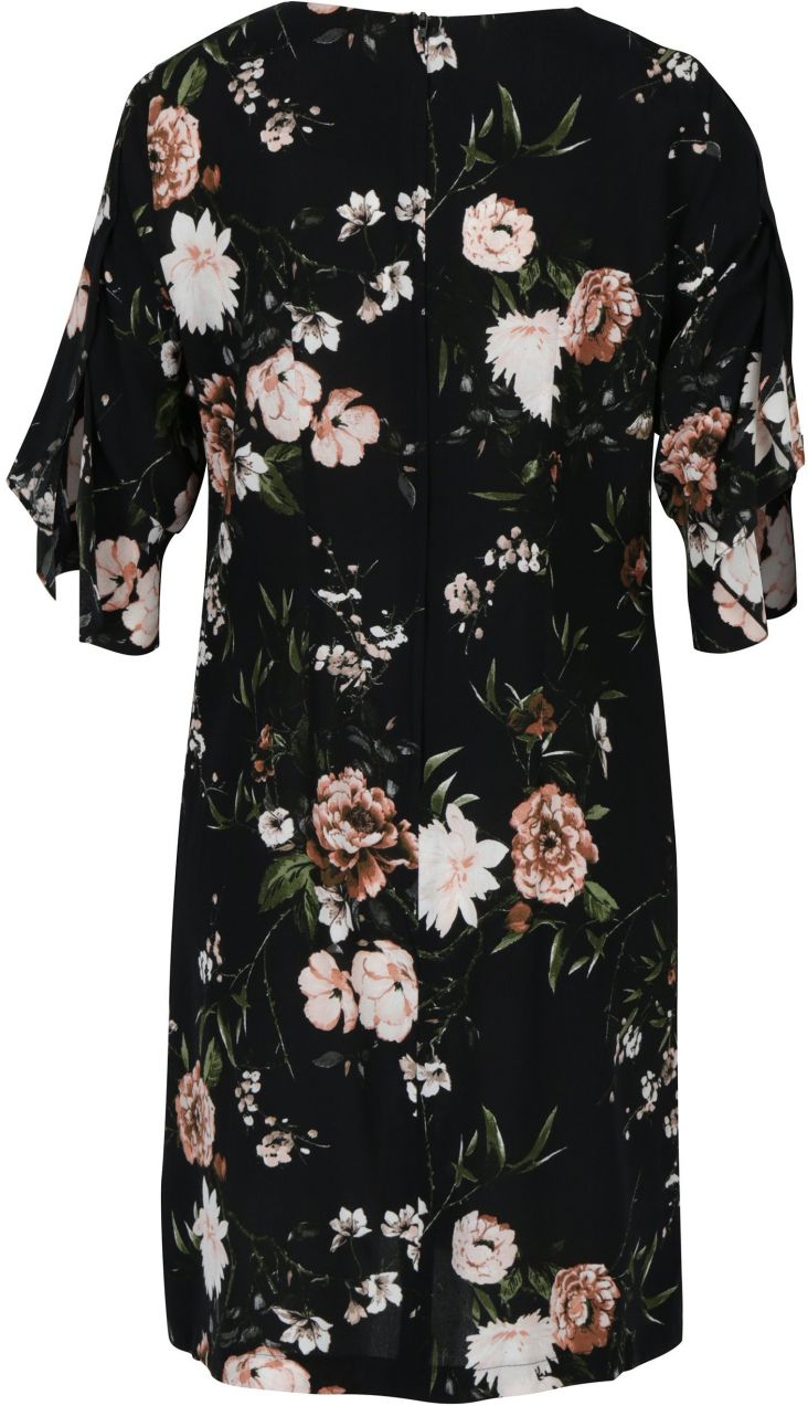 Čierne kvetované šaty Dorothy Perkins značky Dorothy Perkins - Lovely.sk 4545382b718
