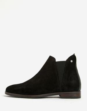 Čierne dámske kožené členkové topánky GANT Avery značky Gant - Lovely.sk dab4c252232