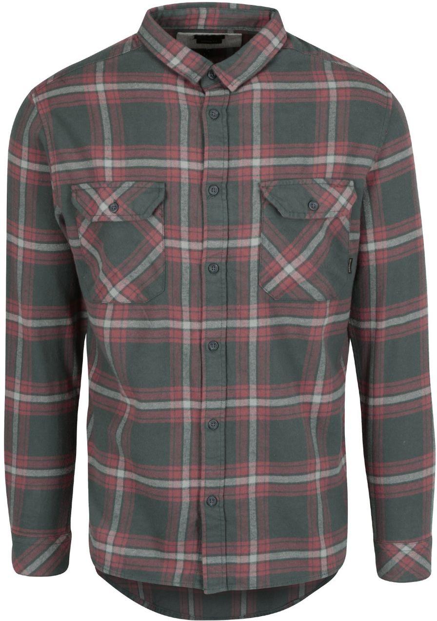 9df39d85f0e3 Zeleno-červená pánska flanelová modern fit košeľa Quiksilver značky  Quiksilver - Lovely.sk