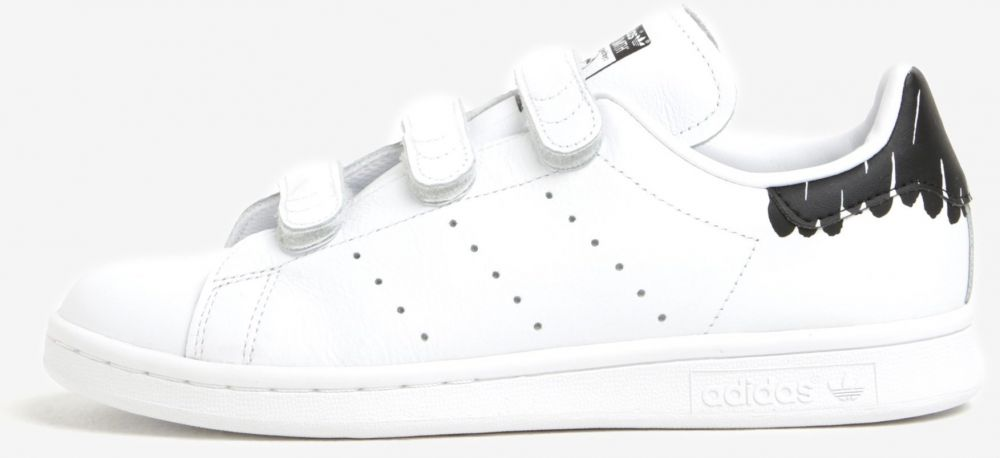 Biele dámske tenisky na suchý zips adidas Originals Stan Smith značky  adidas Originals - Lovely.sk 8ea8c536bf1