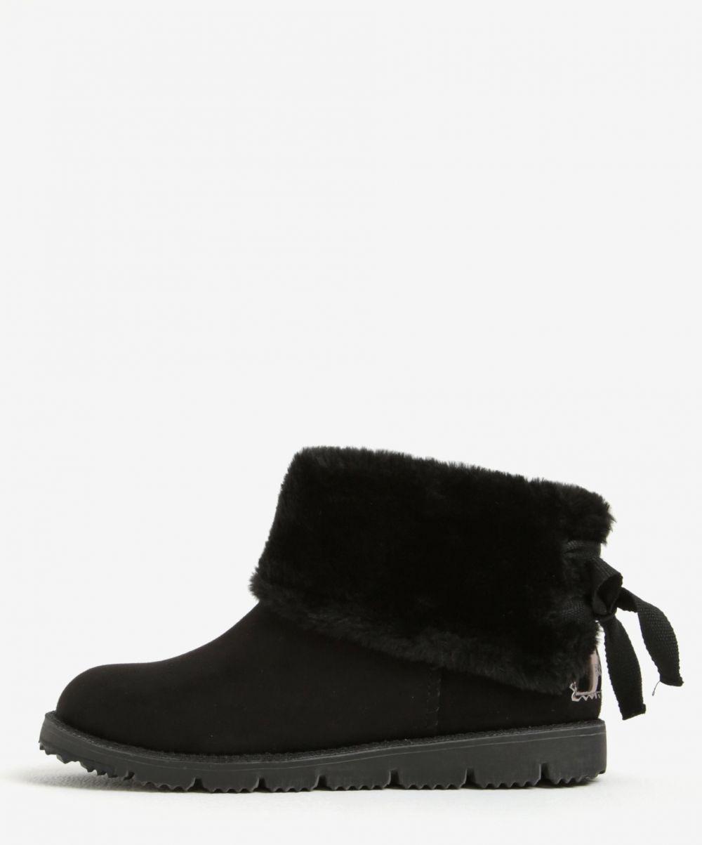 Čierne dámske zimné členkové topánky v semišovej úprave s.Oliver značky s. Oliver - Lovely.sk 84af0c17173