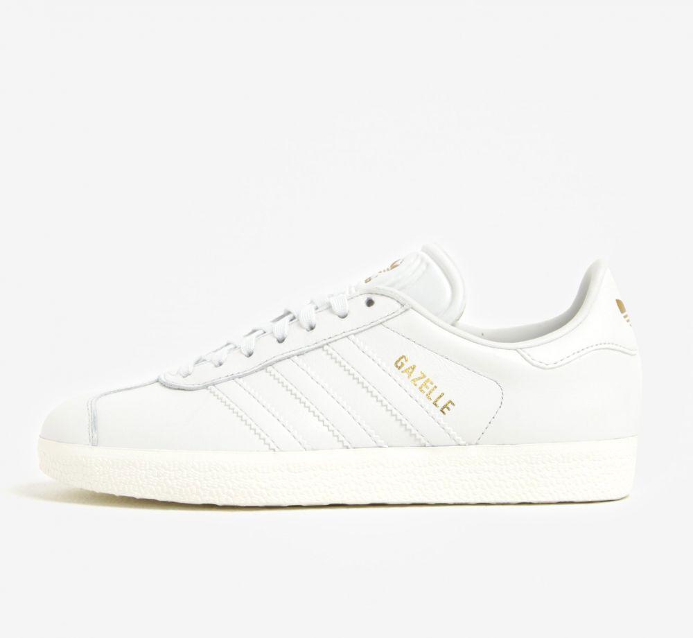 7678e0f127894 Biele dámske tenisky adidas Originals Gazelle značky adidas Originals -  Lovely.sk