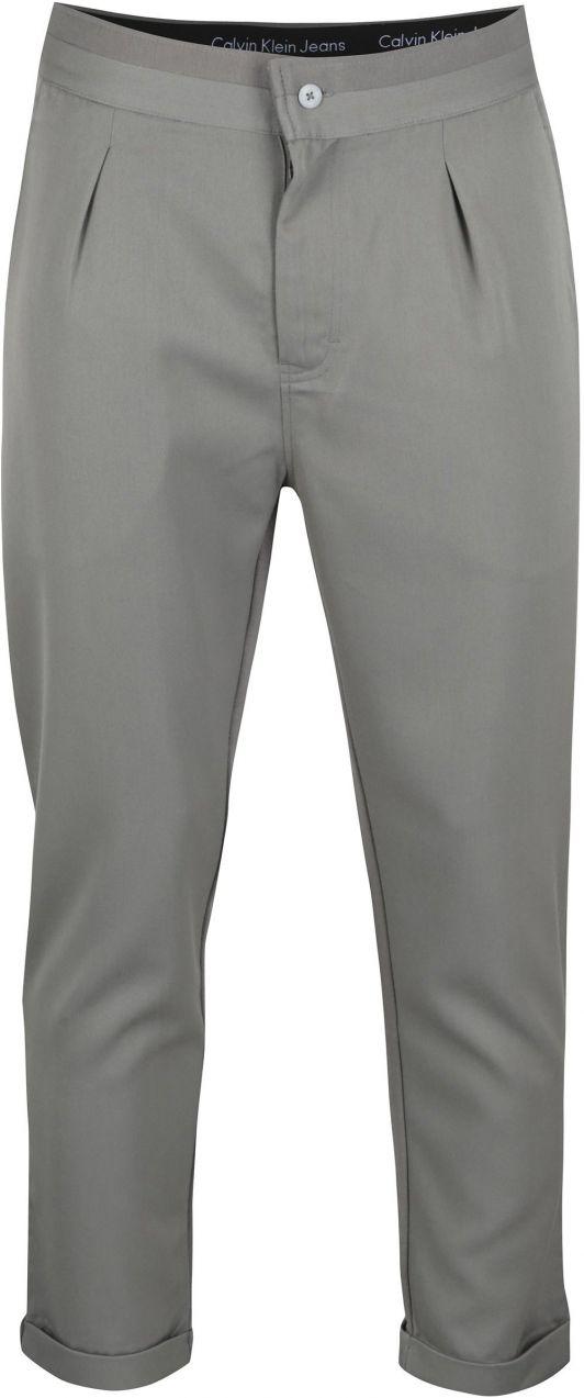 95f78ff68822 Sivé pánske nohavice Calvin Klein Jeans Galf značky Calvin Klein Jeans -  Lovely.sk