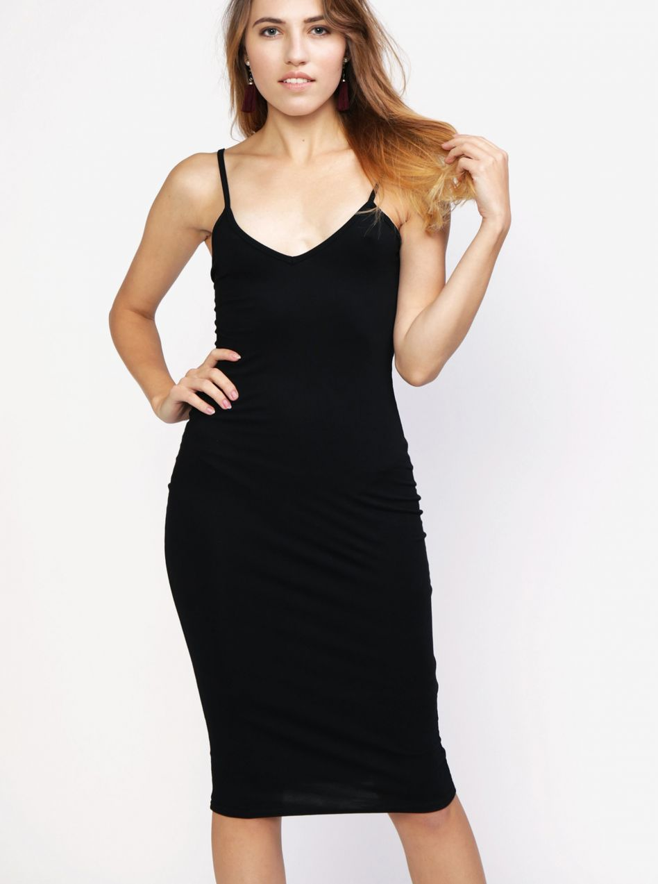 22ea025d5cc7 Čierne šaty na ramienka MISSGUIDED značky Missguided - Lovely.sk