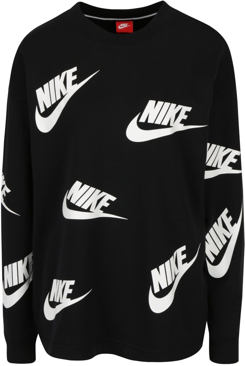 def6c521c9e1 Čierna dámska mikina s potlačou Nike značky Nike - Lovely.sk