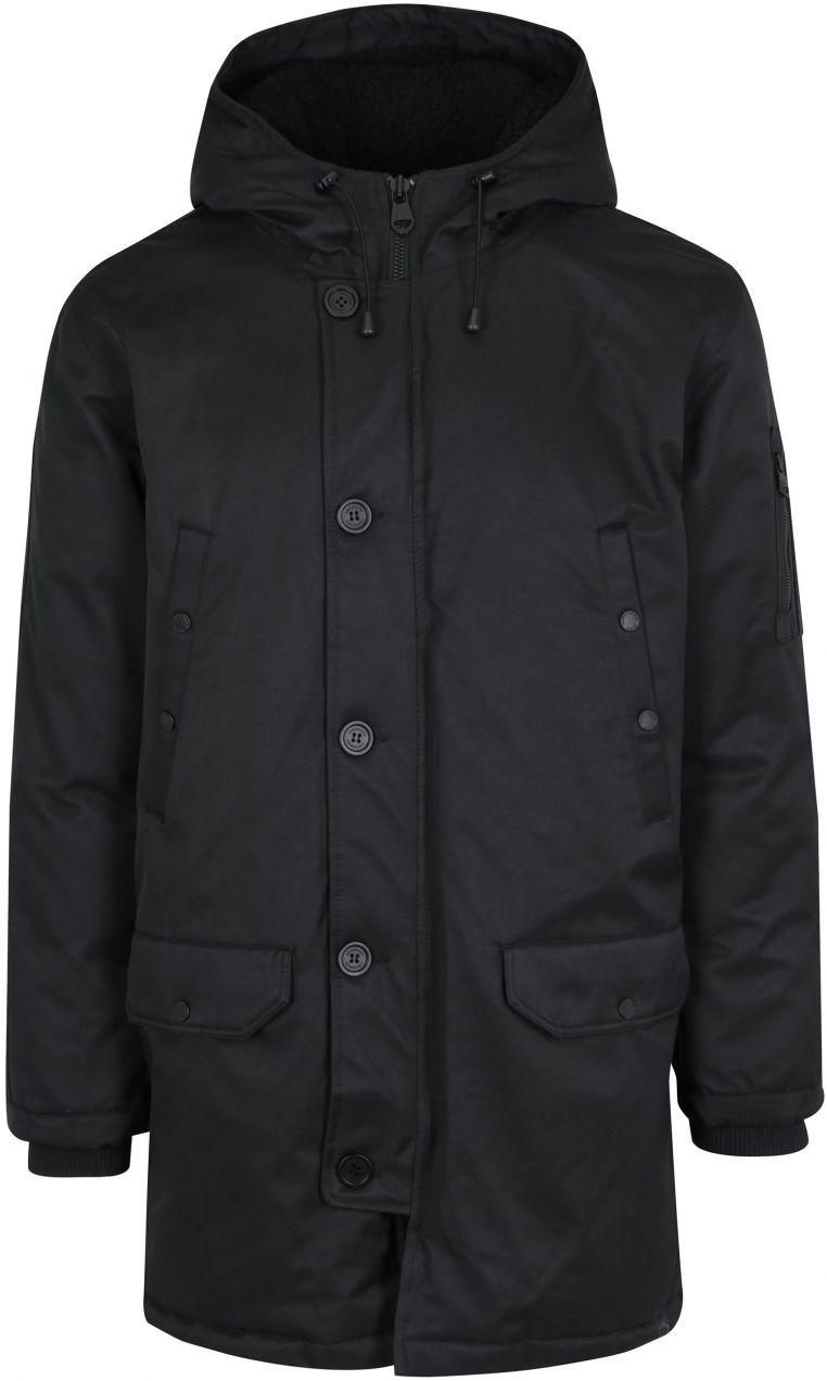 314dd9335 Čierna zimná páperová bunda s kapucňou Lindbergh značky Lindbergh -  Lovely.sk
