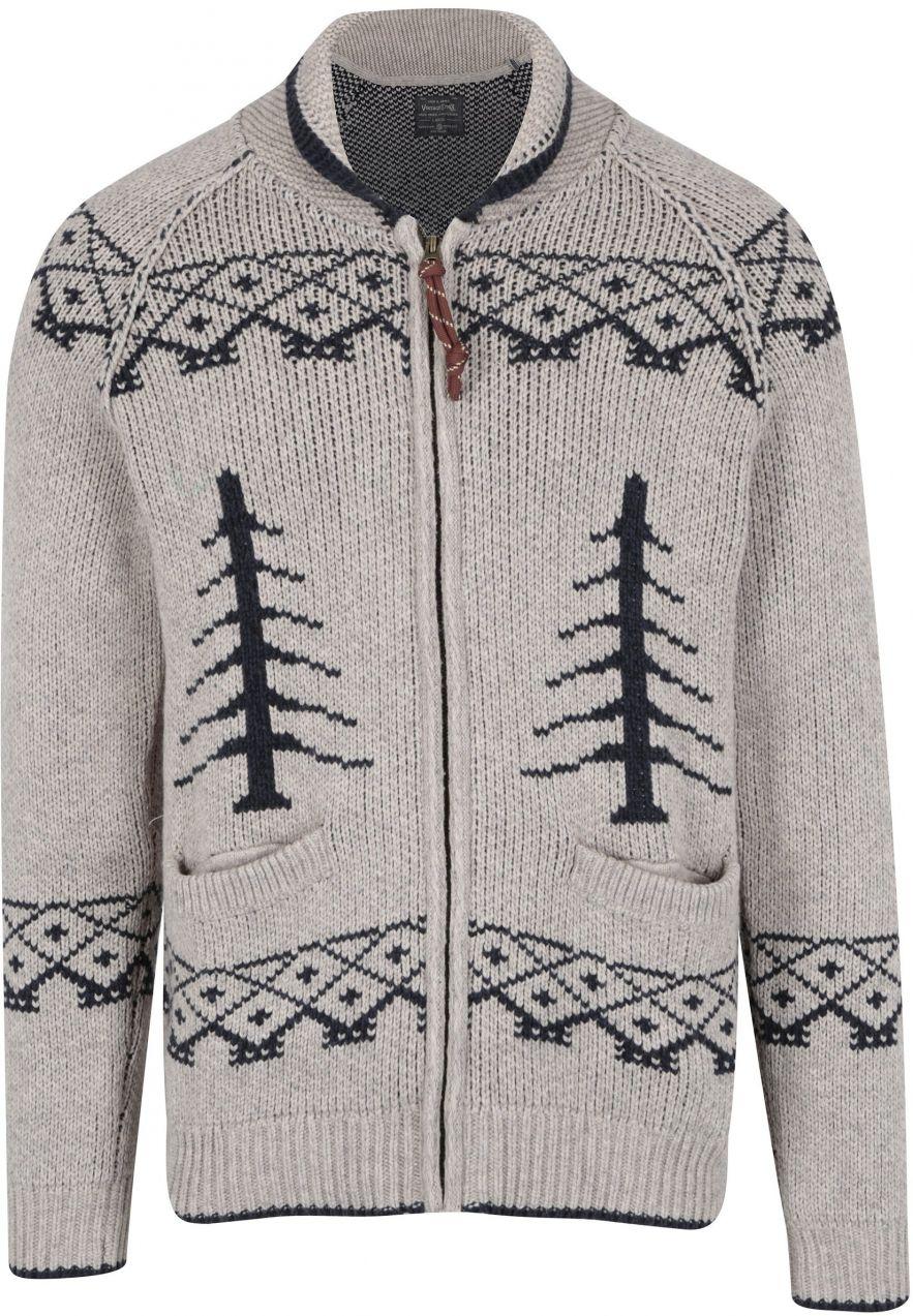 f3981dbe6132 Béžový vzorovaný sveter s prímesou vlny Jack   Jones Vintage Henderson  značky Jack   Jones - Lovely.sk