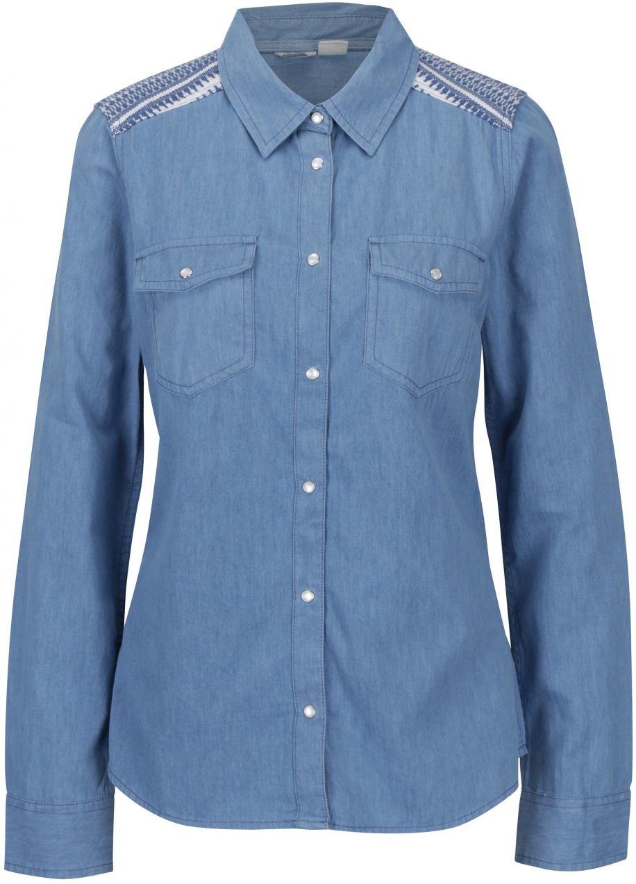 1ffddb2f7226 Modrá dámska rifľová košeľa Roxy Light of Down značky Roxy - Lovely.sk