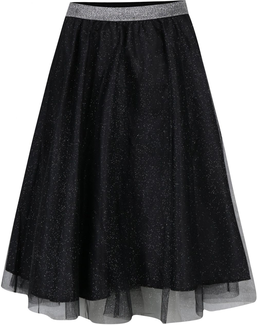 d5da73565f0a Čierna tylová sukňa s trblietkami Haily s Party značky Haily´s - Lovely.sk