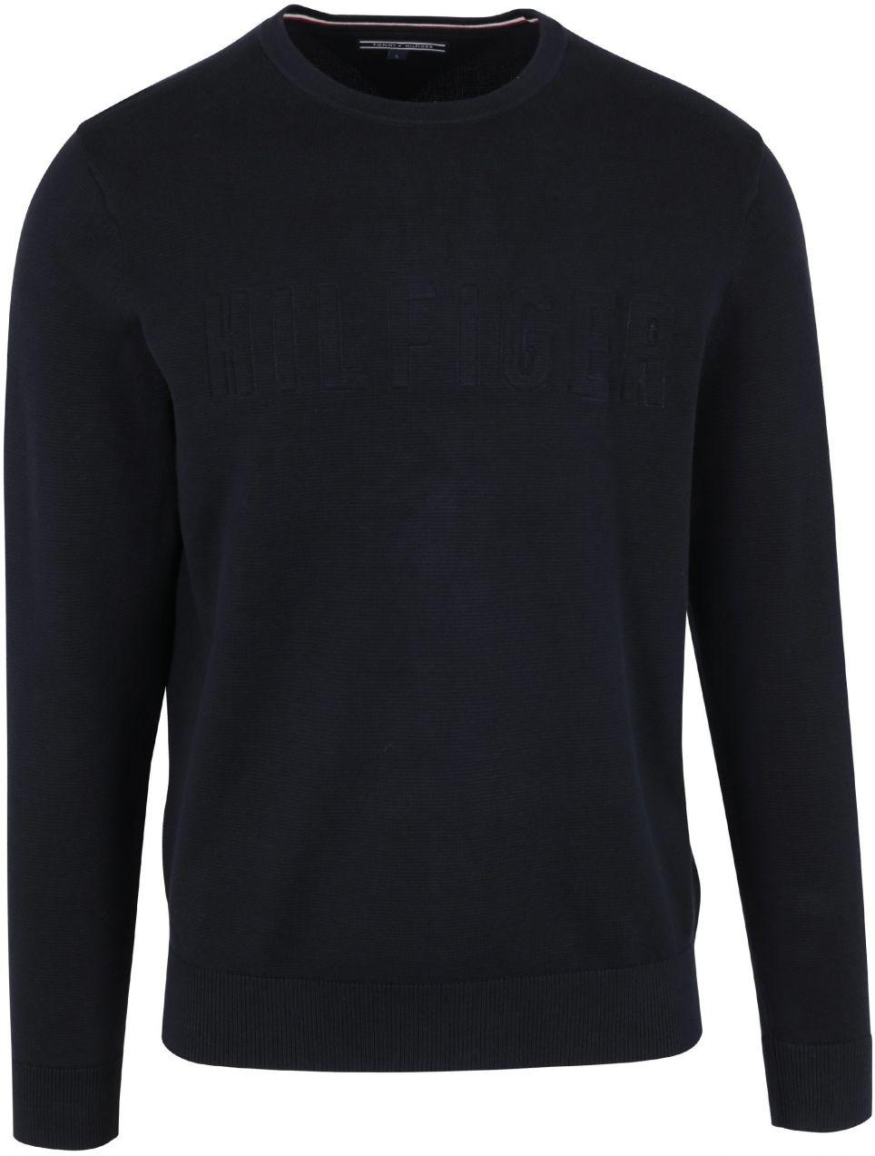 94cfca6601 Tmavomodrý pánsky tenký sveter Tommy Hilfiger značky Tommy Hilfiger -  Lovely.sk