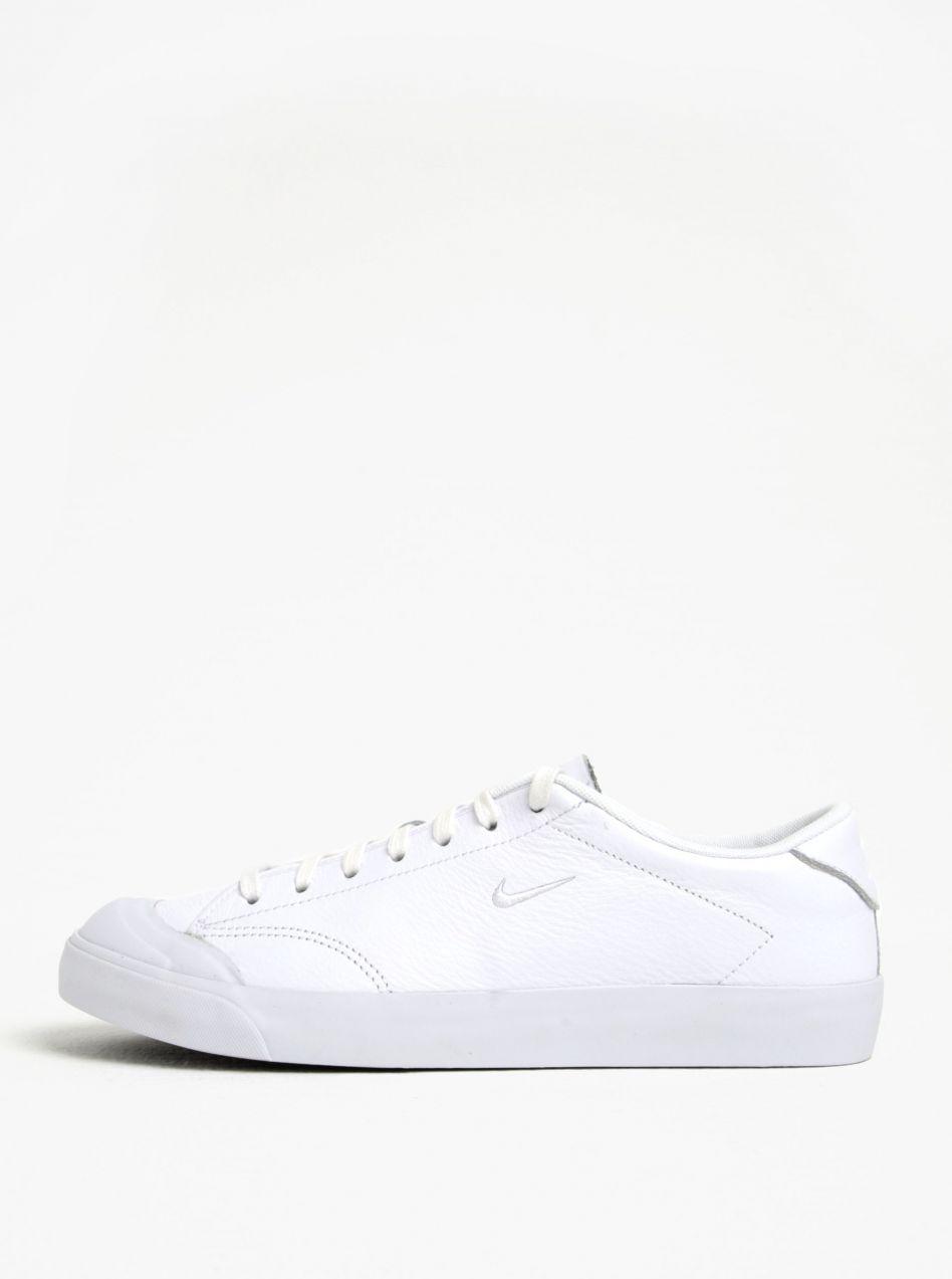 0aa5bc80ce7 Biele pánske kožené tenisky Nike All Court 2 Low značky Nike - Lovely.sk