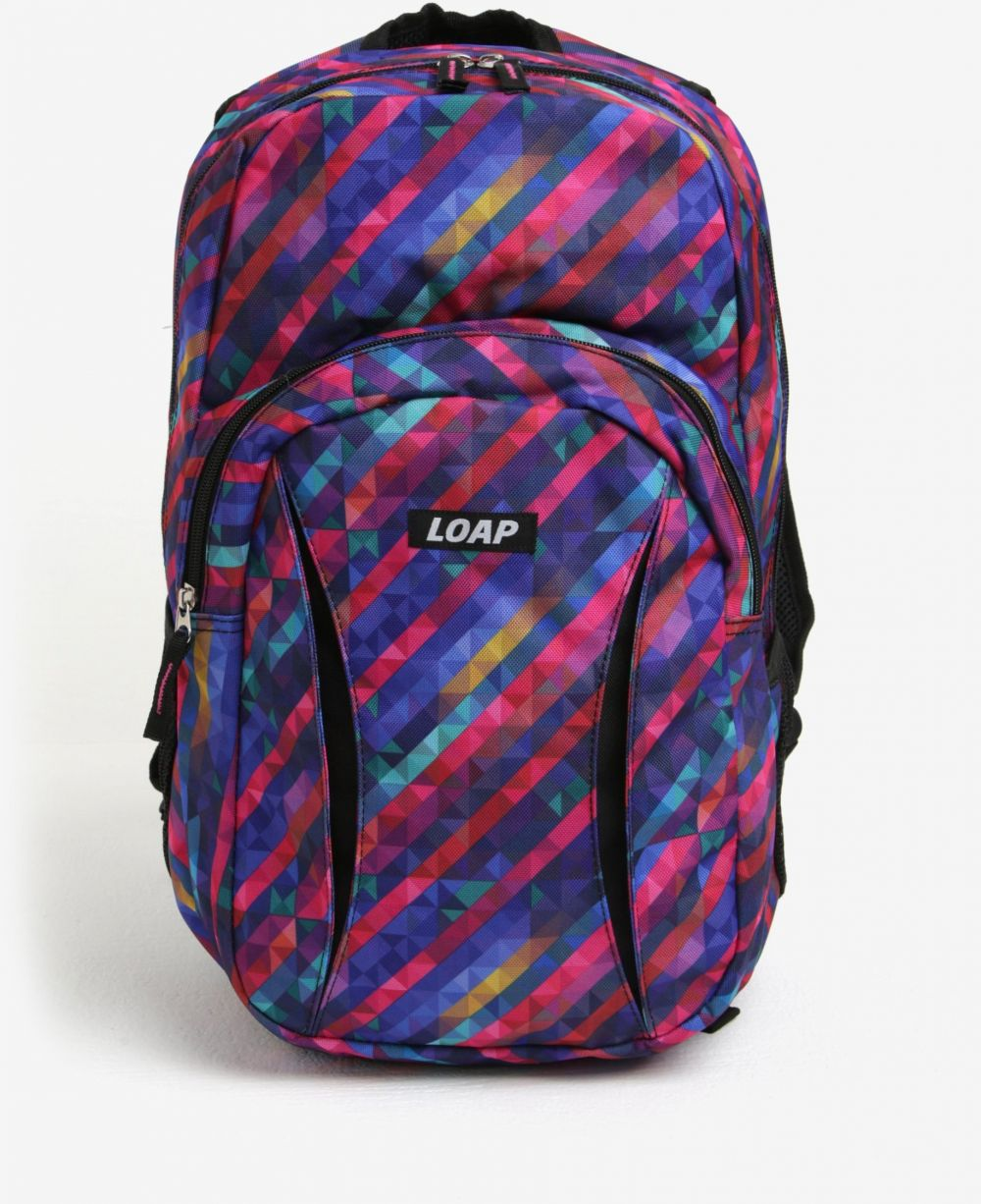 7bb472134ec8 Fialový vzorovaný batoh LOAP Asso 20 l značky LOAP - Lovely.sk
