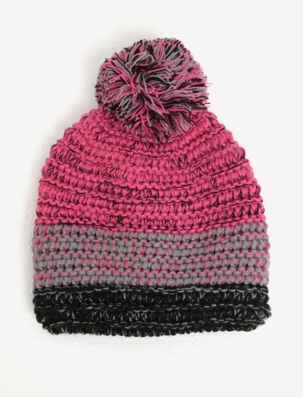 001d409f8 Ružová dievčenská čiapka s brmbolcom 5.10.15 značky 5.10.15. - Lovely.sk