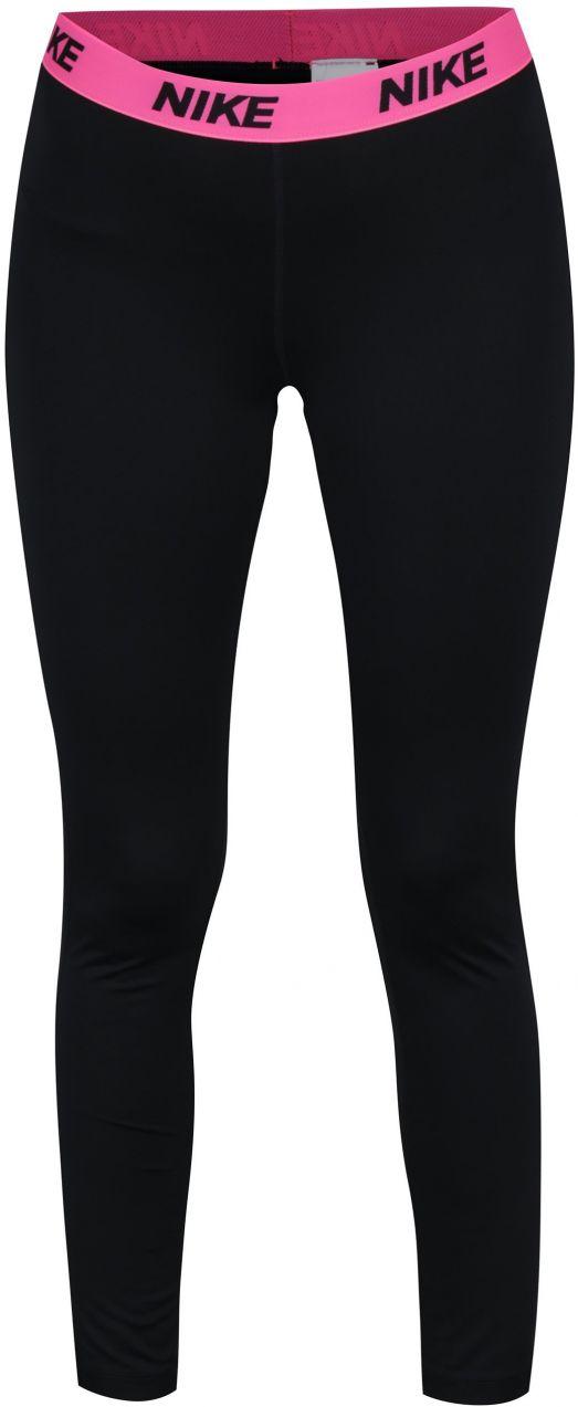 428deff4aa07 Ružovo-čierne dámske funkčné legíny Nike značky Nike - Lovely.sk
