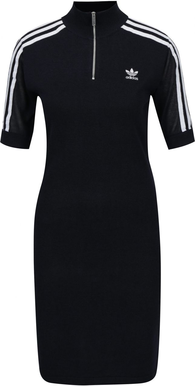 Tmavomodré dámske svetrové šaty adidas Originals značky adidas Originals -  Lovely.sk caa5c8ea2c