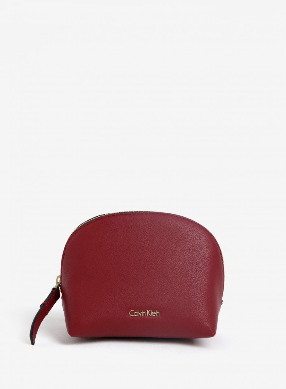 f69c7300eb Vínová kozmetická taštička Calvin Klein Jeans Night Out značky Calvin Klein  Jeans - Lovely.sk