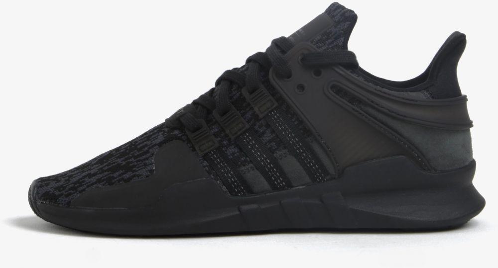 e9fd777a1 Čierne pánske tenisky adidas Originals EQT Support ADV značky adidas  Originals - Lovely.sk