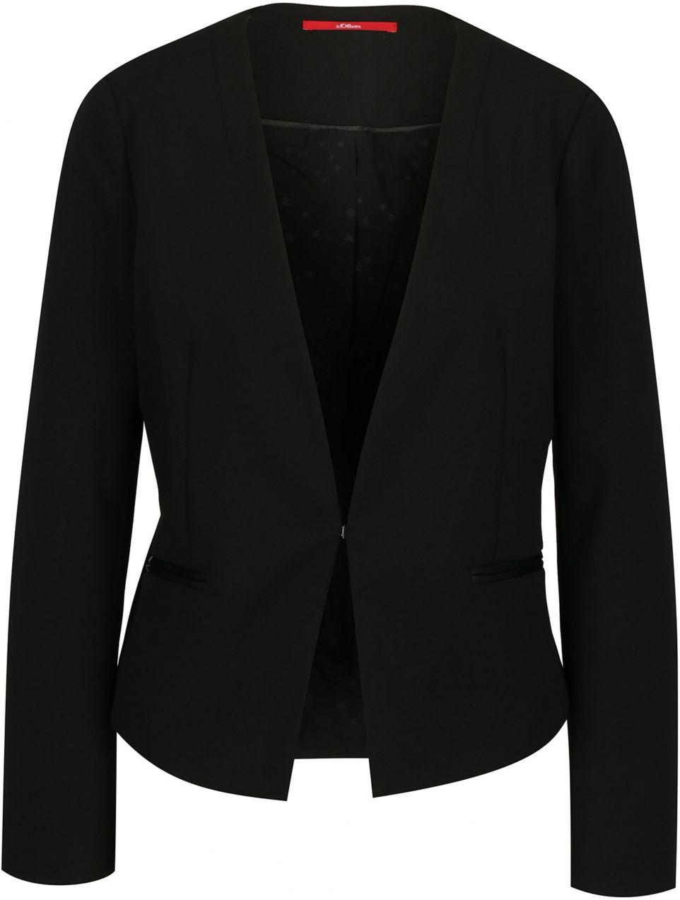 a60c70a135 Čierne dámske sako s.Oliver značky s.Oliver - Lovely.sk